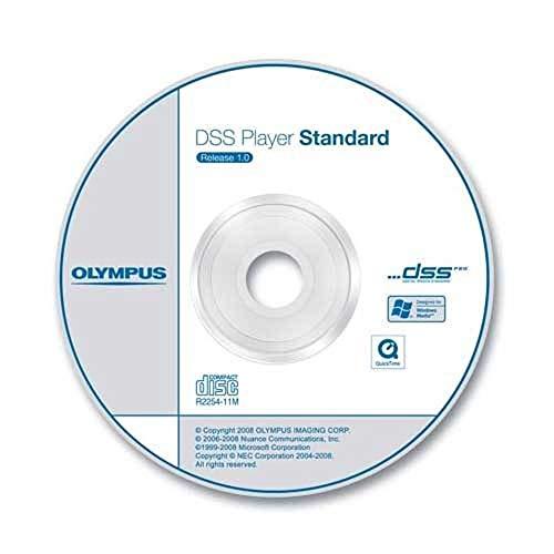 Olympus DSS Player Software Diktiermodul CD-ROM inkl. Seriennummer (Diktat)