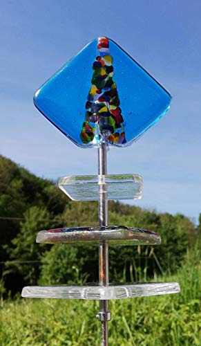 Sonnenfänger Gartenstecker bewegt sich im Wind Sonnentänzer Sun Swinger Sun dancer Gartenstecker Sun Dancer