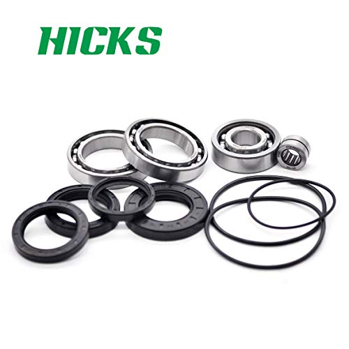 HICKS Replaces Honda TRX300FW 300 FourTrax 2x4 4x4 ATV Rear Differential Bearing Kit 1988-2000