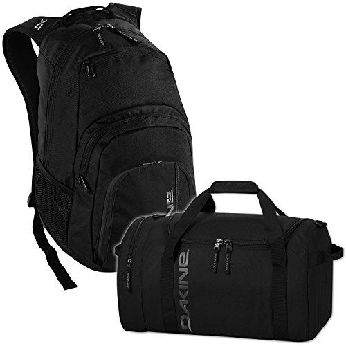 DAKINE 2er Set Laptop Rucksack Campus SM + EQ Bag SM Sporttasche Black