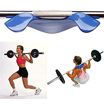 Manta Ray by Advanced Fitness Squat Load Distribution Device Barbell Pad Alternative
