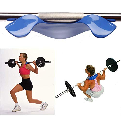Manta Ray by Advanced Fitness, Squat Load Distribution Device, Barbell Pad Alternative