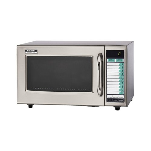 Sharp Stainless Steel Commercial Microwave (15-0429)