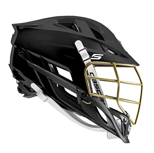Amazon Cascade S-Youth Lacrosse Helmet Customizable-Black-Black Facemask