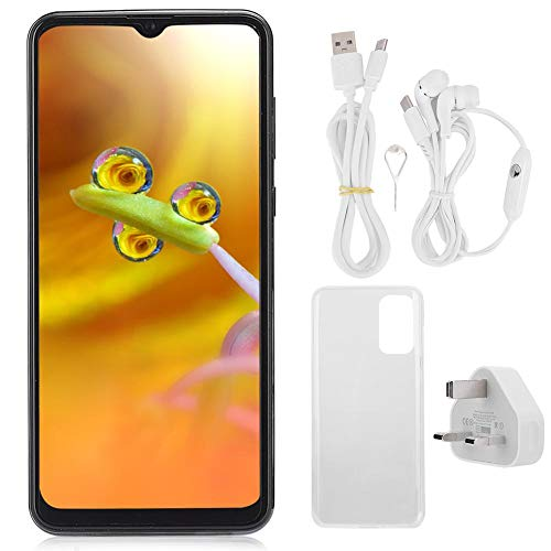 T angxi 6.7' Water Drop Screen Smartphone, 6.7' 2+16G Face ID Fingerprint Unlock OS for Android 9.1 Dual Cards Dual Standby Quad-Core CPU Mobile Phone with 128G Memory Card(UK)