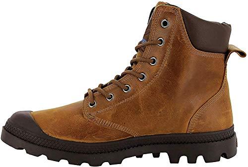 Palladium Pampa Sport Cuff Leather Waterproof, Unisex-Erwachsene, Klassische Stiefel, Braun (Sunrise/Carafe J75), 41 EU
