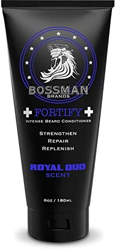 Bossman Fortify Intense Conditioner Moisturize Replenish and Protect your beard Thicker Formula product image
