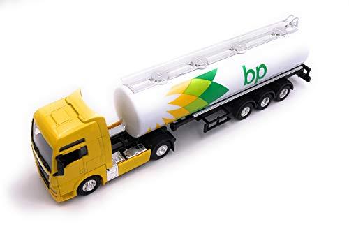 H-Customs BP Camión Cisterna Camión Cisterna Camión Cisterna Gasolina Producto con Licencia 1:87 Amarillo