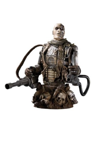 DC Direct- Terminator Salvation T-600 Figurine, 761941282206
