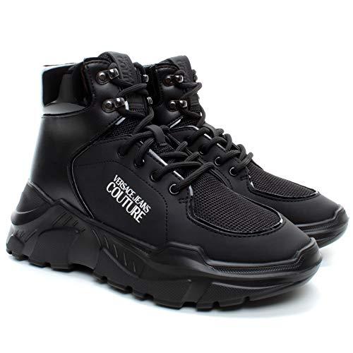VERSACE JEANS COUTURE Damen Sneakers E0VUBSC2 71264 899 Synthetisch Schwarz