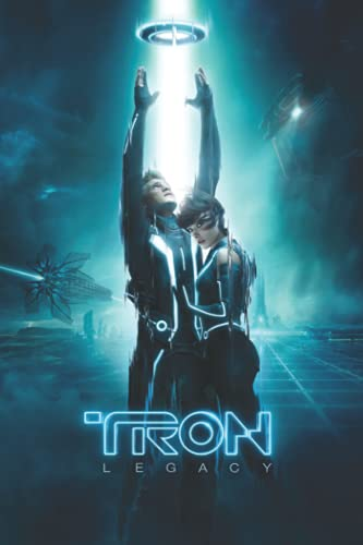 Tron Notebook: - 6 x 9 inches with 110 pages