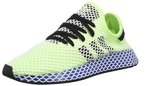 adidas DEERUPT Runner, Scarpe da Ginnastica Uomo, Giallo (Hi/RES Yellow/Core Black/Ftwr White Hi/RES Yellow/Core Black/Ftwr White), 39 1/3 EU