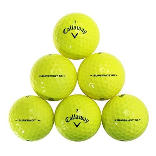 Yellow Premium Golf Ball Mix - Great Brands & Styles! 50 Near Mint Quality Used Yellow Golf Balls (AAAA Yellow Pro Styles Mix) (50PK-PLYL-2)