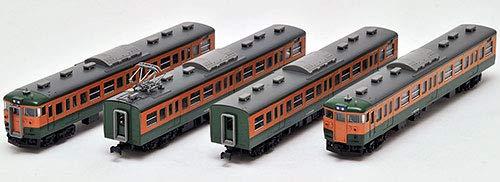 J.N.R. Suburban Train Series 115-1000 (Shonan Color) (Add-On 4-Car Set) (Model Train)