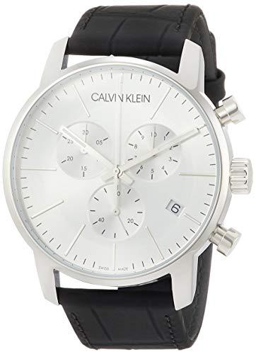 Calvin Klein Montre Bracelet Quartz chronographe Acier Inoxydable k2g271C6