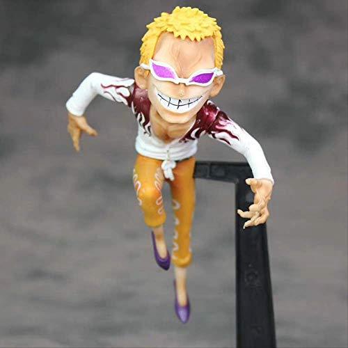hhjxydst Anime Model - One Piece Schlacht Oka Shichibukai Donquixote Doflamingo Ornament Spielzeug Hobbys Actionfiguren