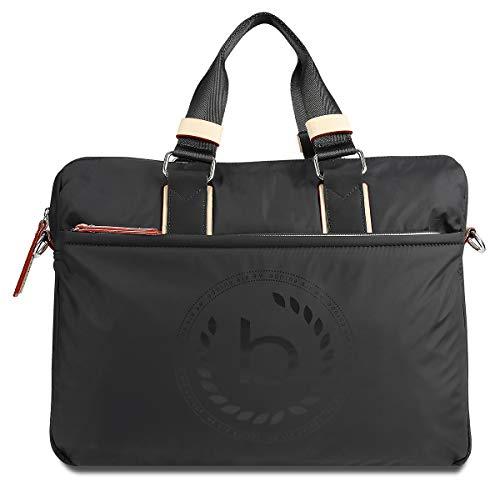"""Bugatti Lido Businesstasche für Damen mit 15"""" Laptopfach, Arbeitstasche Aktentasche Große Bürotasche, Schwarz"""