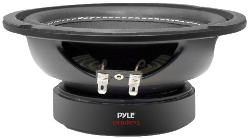 Car Vehicle Subwoofer Audio Speaker - 6.5 Inch Non-Pressed Paper Cone, Black Plastic Basket,Dual Voice Coil 4 Ohm Impedance, 600 Watt Power, Foam Surround for Vehicle Stereo Sound System - Pyle PLPW6D