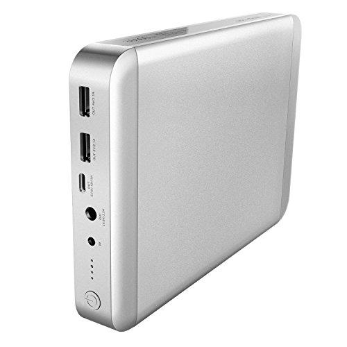 MAXOAK 36000mAh USB-C Type C Tragbar Ladegerät äußerlich Batterie Power Bank für MacBook Pro MacBook Air 11/13/15 Inch Laptop Externe Akkus Ladegerät, können für Apple Notebook, Iphone