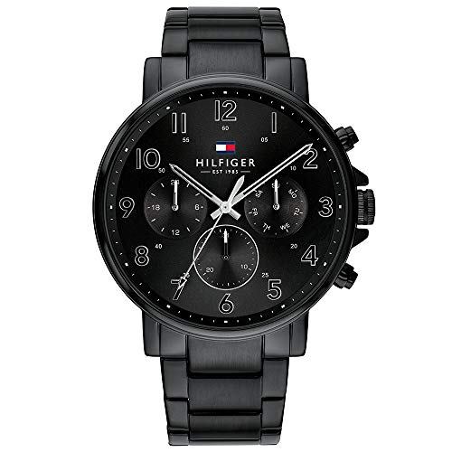 Tommy Hilfiger Analog Black Dial Men's Watch-TH1710383