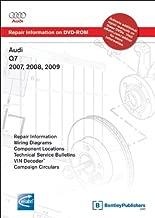 Audi Q7 2007, 2008, 2009: Repair Manual on DVD-ROM (Windows 2000/XP)