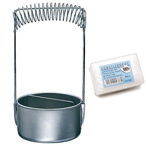 AMI Limpiador de pinceles con jabón para artistas.