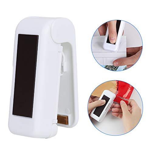 Folienschweißgerät, Mini Bag Sealer,Hand-Folienschweißgerät,Mini Folienschweißgerät Handlicher Tüten Verschweißer,2 in 1 Verschließen