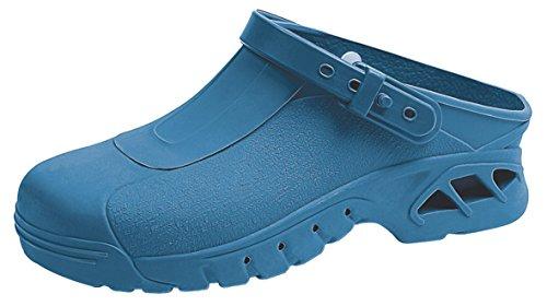 Abeba Spezialschuhe Clogs blau 9610 Gr. 45