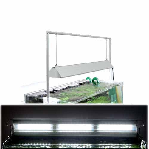 アクロ オリジナルLED TRIANGLE GROW 600 + 吊り下げ用ライトスタンドセット
