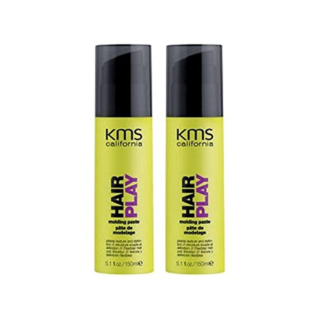 見落とすクラッシュファンタジーKms California Hairplay Molding Paste Duo (Pack of 6) - カリフォルニア成形ペーストデュオを x6 [並行輸入品]