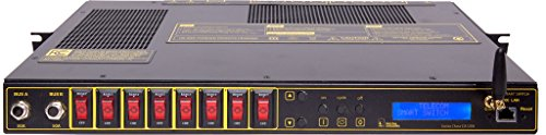 Digital Loggers, Inc. DC Rack Mount Switched Power Distribution Unit (PDU) 100A Total, 8 Protected outputs, 15A Each