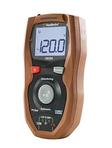 Southwire Tools & Equipment 16030A Autoselecting CAT IV Multimeter