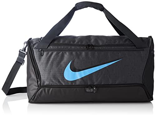Nike Duff-9.0 Mtrl Slub Bag Dk Smoke Grey/Black/Coast One Size