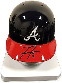 Freddie Freeman Atlanta Braves Autographed Signature Mini Batting Helmet JSA - Authentic MLB Autograph