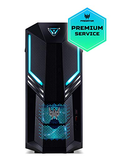 Acer Predator Orion 3000 – PO3-600 – Computer desktop (Intel Core i5-8400, 16 GB RAM, 1 TB HDD, 128 GB SDD, Nvidia GTX 1060, Windows 10 Home) nero
