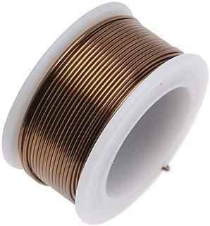 Beadsmith WCR-4205 20 Gauge Antique Vintage Bronze Brass Color Copper Craft Wire, 10 yd