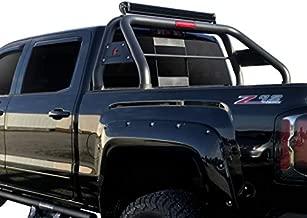 Black Horse Classic Roll Bar Compatible with 2000 to 2021 Nissan Ram Chevrolet Ford GMC Toyota Titan 3500 2500 Silverado F-150 Sierra 1500 2500 3500 Tundra XD Black RB001BK