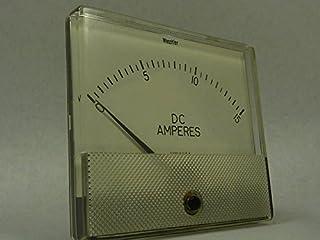 Weschler Yokogawa DC Panel Meter 0-15A GX-372