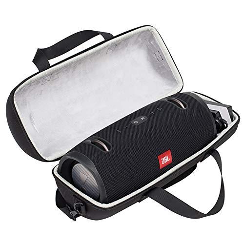 PAIYULE Tasche für JBL Xtreme 1/2 Spritzwasserfester Tragbarer Bluetooth Lautsprecher mit Platz für Stecker Zubehör + Kabel - Carbon