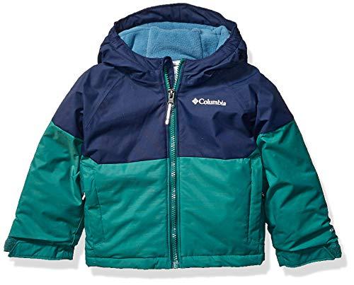 Columbia Boys Alpine ActionIi Jacket, Pine Green Heather, Collegiate Navy, 3T