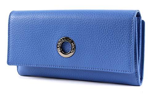 Mandarina Duck Mellow Leather Wallet FZP63, Blau