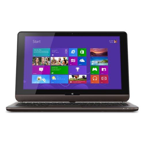 Toshiba Satellite U925T-S2120 12.5-Inch Convertible 2 in 1 Touchscreen Ultrabook (Midnight Brown in Soft Touch Body)