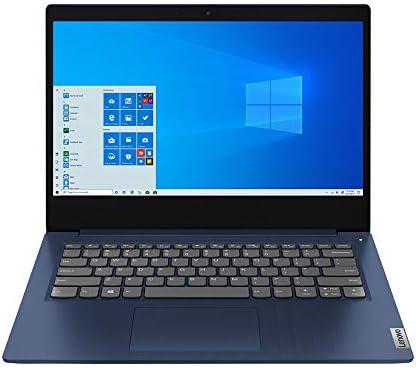 """2021 Lenovo IdeaPad 3 14"""" FHD Laptop Computer, AMD 3rd Gen Ryzen 3-3250U, 12GB RAM, 1TB HDD, AMD Radeon Vega 3, Dolby Audio, HD Webcam, HDMI, Windows 10 S, Abyss Blue, 32GB SnowBell USB Card WeeklyReviewer"""