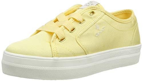 GANT Footwear Damen Leisha Sneaker, Gelb (Light Yellow G301), 40 EU