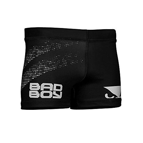 Bad Boy Herren Impact Vale Tudo Shorts, schwarz/grau, XXL