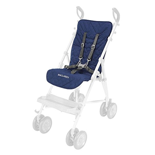 Maclaren Forro de asiento Major Elite , Accesorio para necesidades especiales, Azul Oscuro
