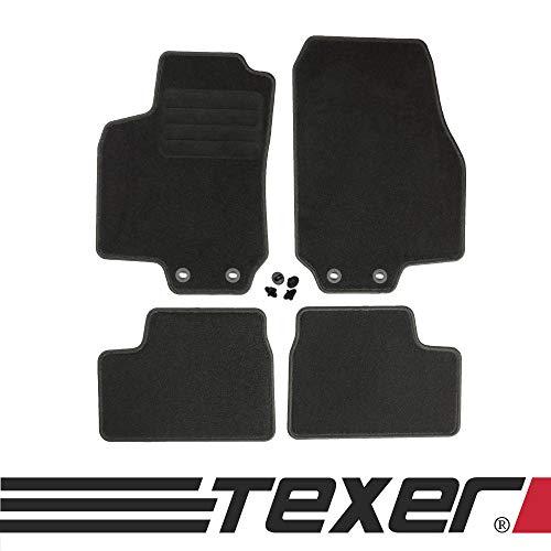 CARMAT TEXER Textil Fußmatten Passend für Opel Astra II G Bj. 1998-2009 Basic