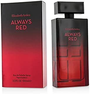 Elizabeth Arden Always Red Eau De Toilette Spray 100ml