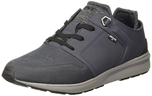 Levi's Women's Black Tab Runner Dark Blue Boating Shoes - 4.5 UK/India (37 EU)