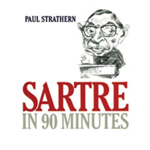 Sartre in 90 Minutes audiobook cover art
